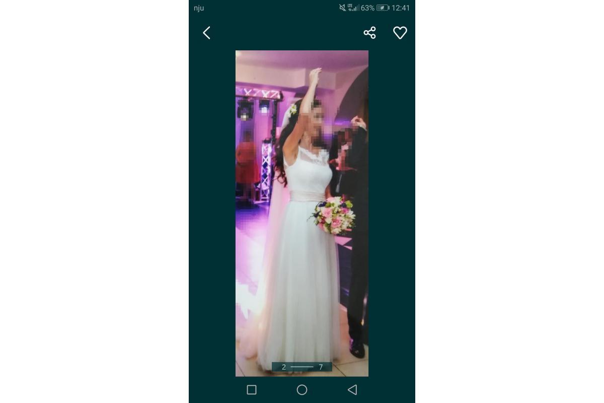 Suknia ślubna 34 XS Elizabeth Passion