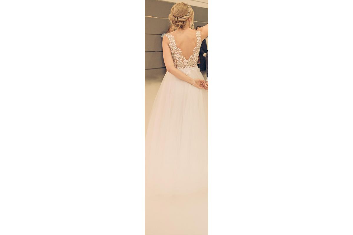 suknia ślubna LEAVES z salonu VOGUE&SHE.