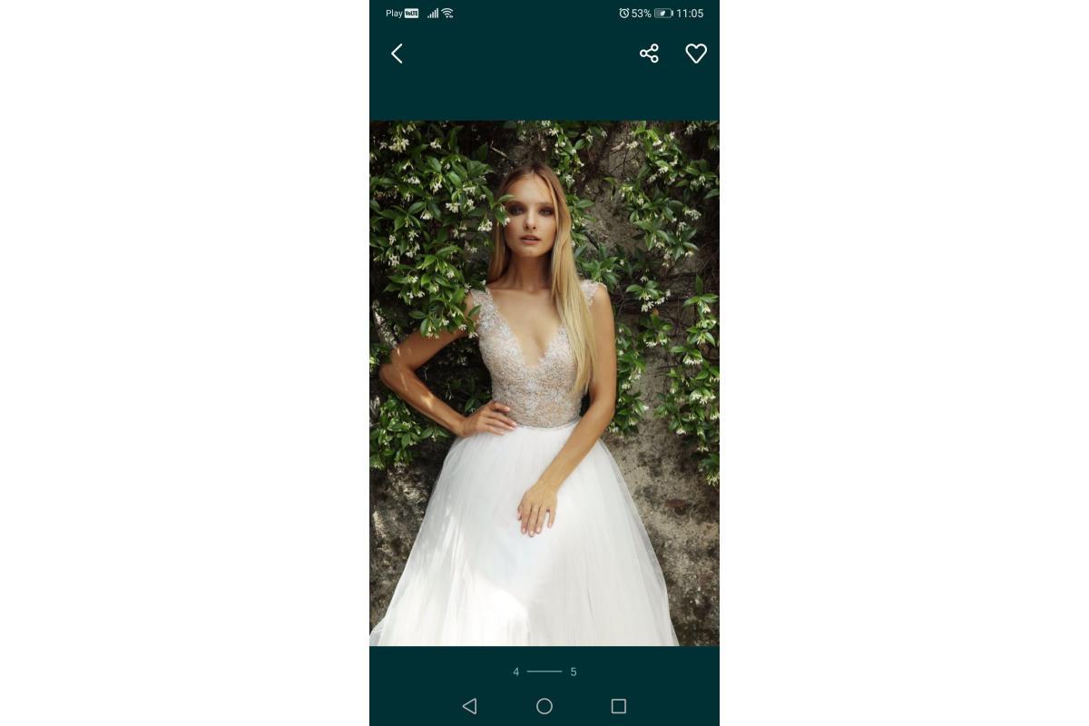Przepiękna suknia ślubna Gala Solano