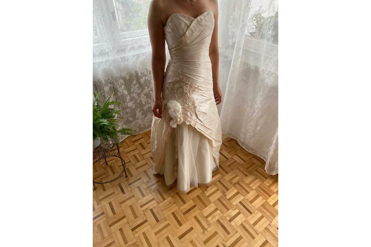 Nowa Suknia Ślubna Agnes rozmiar 38