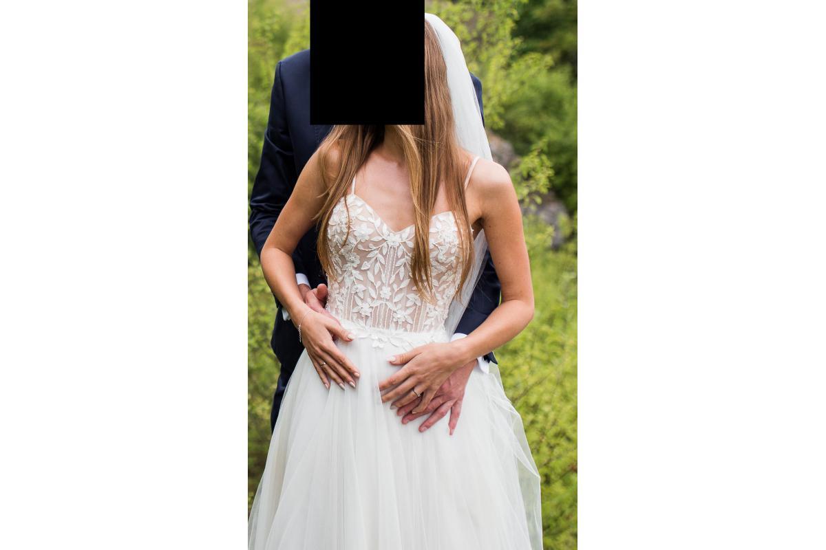 Suknia ślubna Justin Alexander, model-88044 z 2019 roku