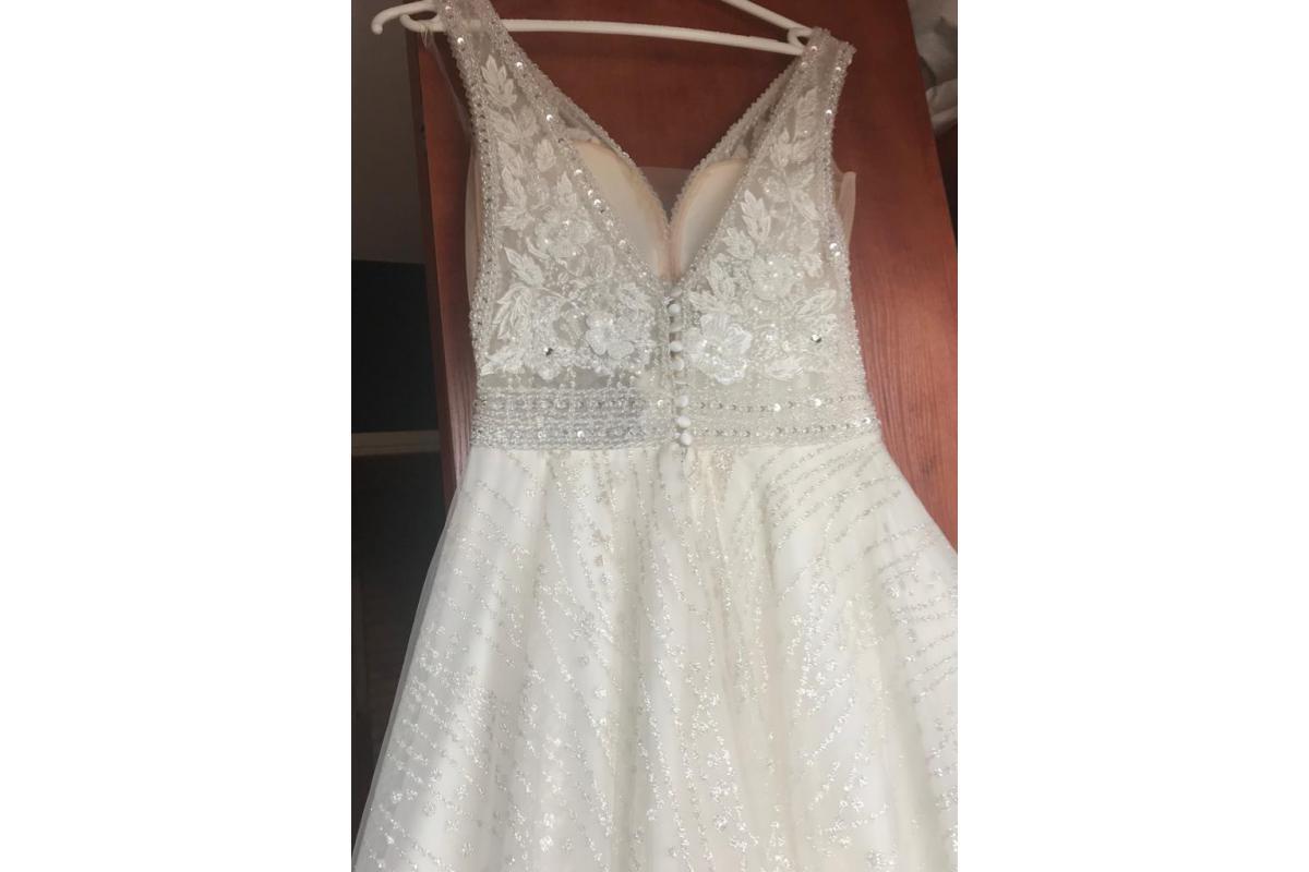 Nowa suknia ślubna  M24